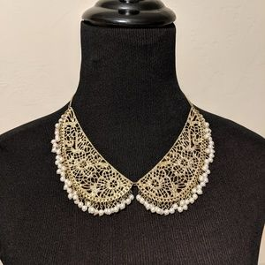 Vintage Peter Pan collar necklace